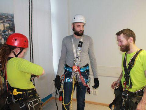 2 группа допуска по безопасности при работах на высоте (с применением систем канатного доступа)