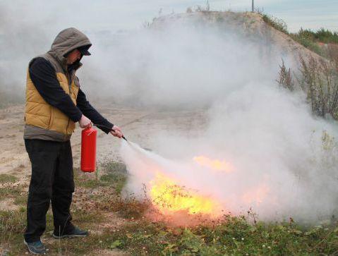 Противопожарная тренировка
