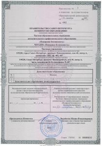 Лицензия на осуществление образовательной деятельности приложение 2